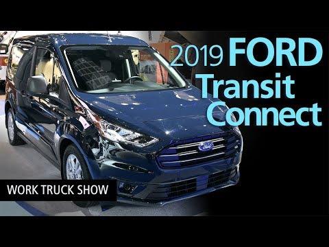 2019 Ford Transit Connect Compact Cargo Van Walkaround