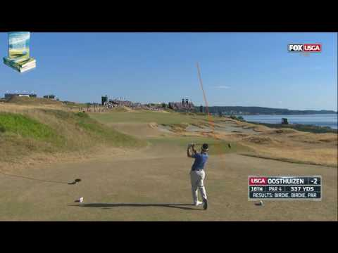 Louis Oosthuizen Awesome Golf Shots 2015 US Open