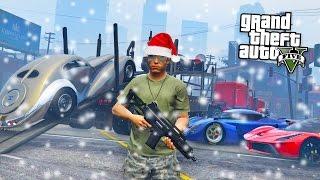 GTA 5 CHRISTMAS DLC UPDATE - NEW CARS IMPORT/EXPORT & MAKING MONEY!! (GTA 5 Import/Export DLC) thumbnail