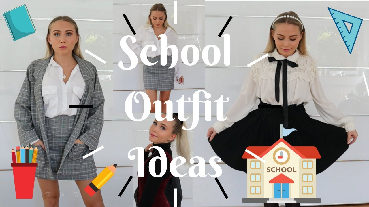 [VIDEO] – School Outfit ideas // Back to School lookbook