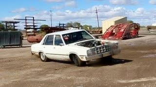 Dirt skids and towing with the Fairmont