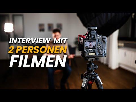 Interview Mit Zwei Personen Richtig Filmen!