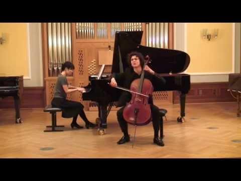 """F. Schubert - """"Arpeggione"""" Sonata in A minor D. 821 (1. Allegro moderato)"""
