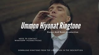 ... download ummon hiyonat ringtone for your cell phones from the l...