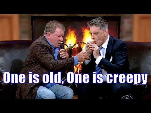William Shatner & Craig Ferguson  8 Fireside Chats