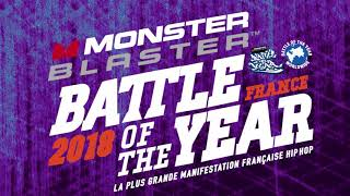 Présentation Bgirl KAMI - BAttle 1vs1 Monster Blaster Battle Of The Year France 2018