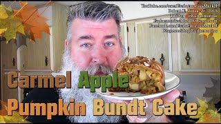 How To Make Caramel Apple Pumpkin Bundt Cake - Day 16,776