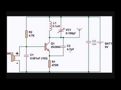 Simple FM Transmitter Circuit