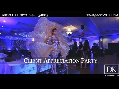 The Agent DK Team: Monte Carlo Theme - Client Appreciation Party 2017!