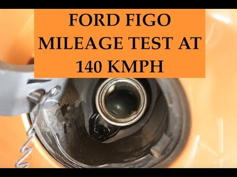 New ford figo mileage test at top speed