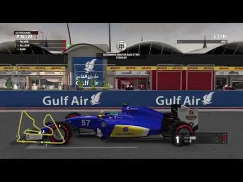 F1 2016 | Career | Bahrain | ENGINE BLOWS UP [S1,R2]