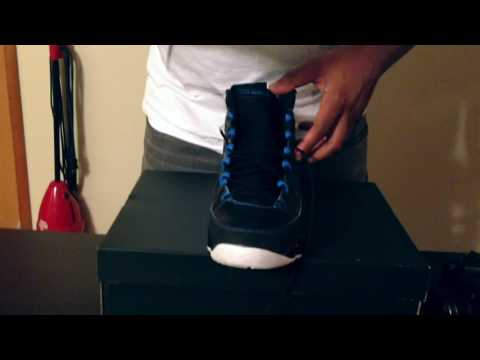How To Lace My 9's