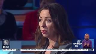 """Олеся Яхно гість ток-шоу """"Ехо України"""" 17.02.20"""