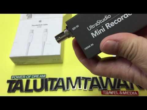 Apple Thunderbolt Cable for BlackmagicDesign Ultrastudio Mini Recorder Encode youtube live broadcast