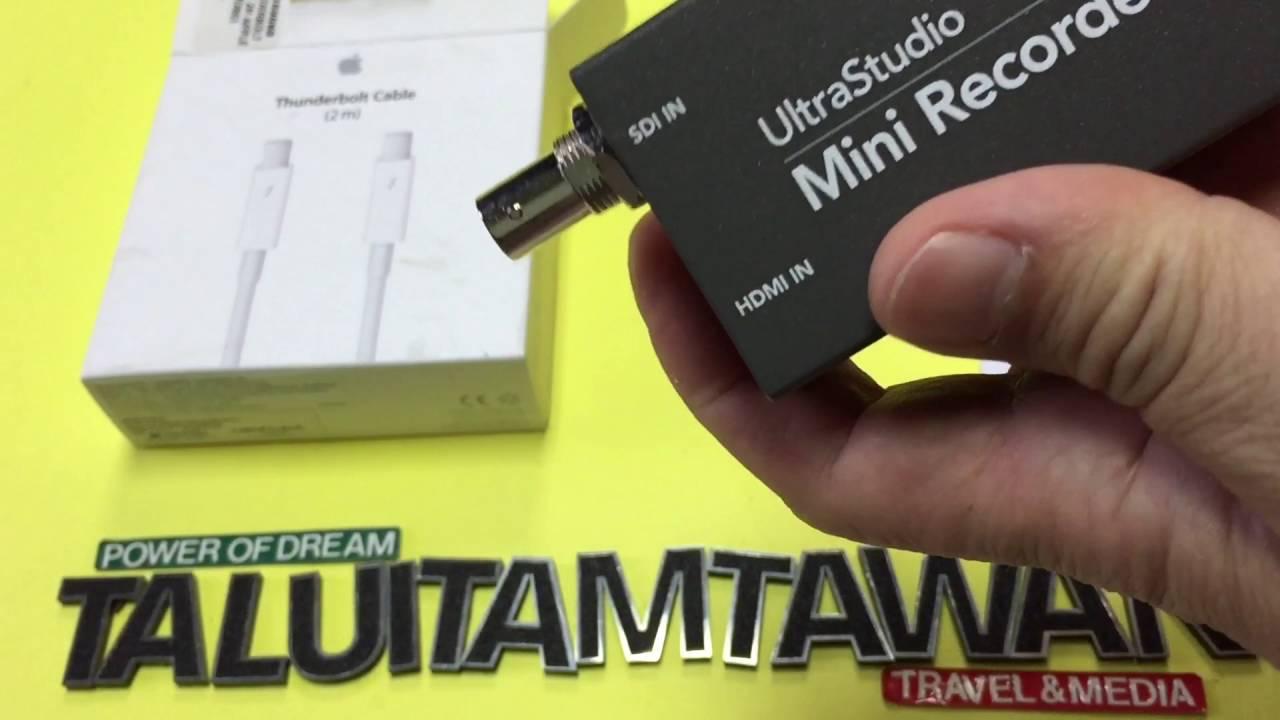 Apple Thunderbolt Cable For Blackmagicdesign Ultrastudio Mini Recorder Encode Youtube Live Broadcast Youtube