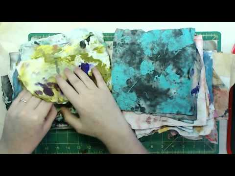 DIY upcycled paper flowers