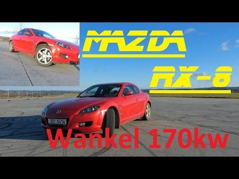 Mazda RX-8 - Pořád Bokem - Recenze :) BEZ KOMPRESE (: 1.3 170 kw Wankel