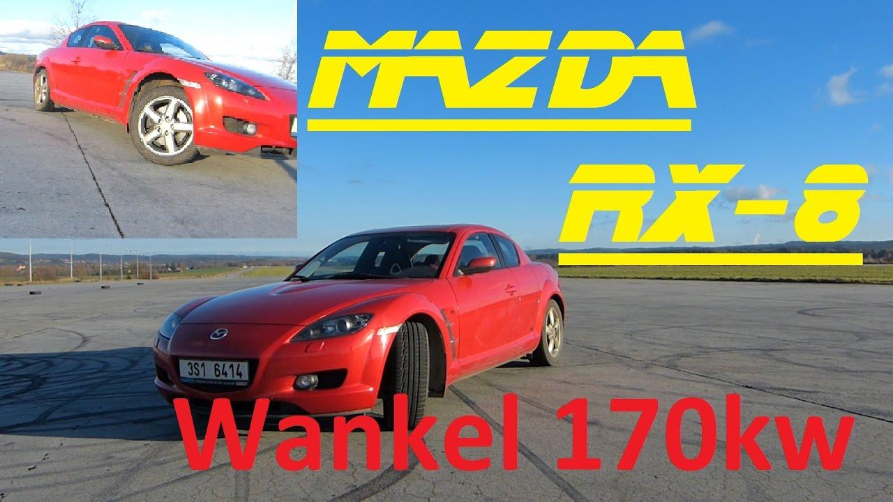 6f6f539535f Mazda RX-8 - Pořád Bokem - Recenze :) BEZ KOMPRESE (: 1.3 170 kw Wankel -  YouTube