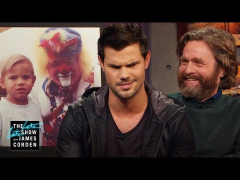 Is Taylor Lautner or Zach Galifianakis Behind the Clown Craze?