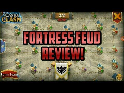 Fortress Feud Review!! Castle Clash