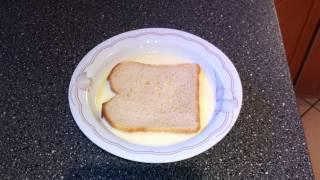 Tipp: Arme Ritter Machen - French Toast Braten - Alten Toast Verwerten