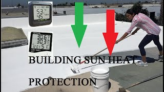 How to naturally protect building from Sun DIY method Cool Roof Technology_Inverted Earthen Pots