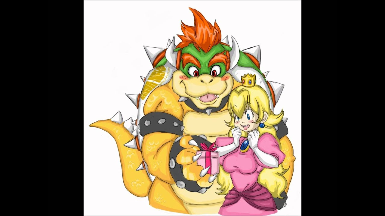 bowser and princess peach forever - YouTube