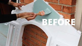 DIY Playhouse Makeover Challenge: BEFORE and AFTER - Thrift Diving