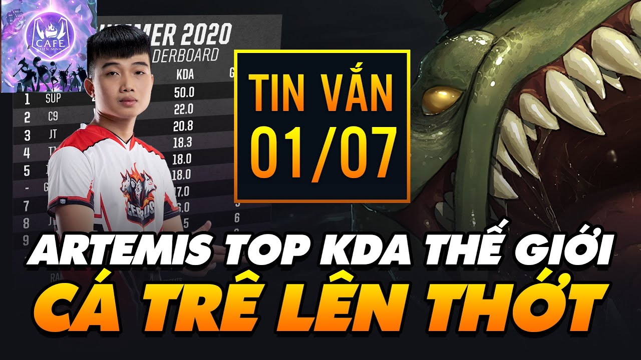 """[TIN VẮN LMHT] ARTEMIS LỌT TOP KDA THẾ GIỚI – RIOT TỰ TIN LOẠI BỎ """"TRẺ TRÂU"""" TRONG LMHT: TỐC CHIẾN!"""