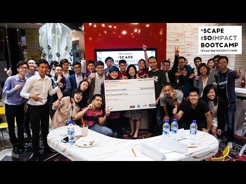 DBS Presents *SCAPE #SOIMPACT Bootcamp