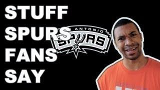 Stuff - Spurs Fans Say
