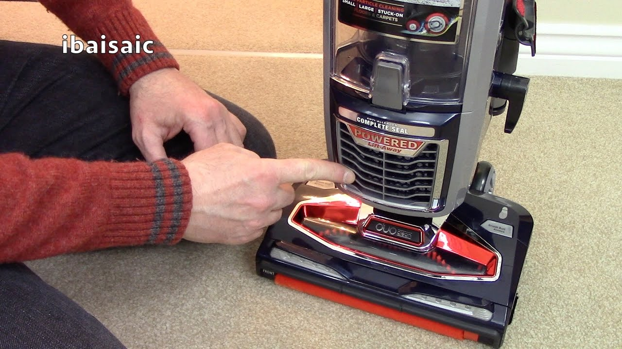 Shark Vacuum Models >> New For 2017 Shark Powered Lift Away DuoClean Vacuum Cleaner Demonstration - YouTube