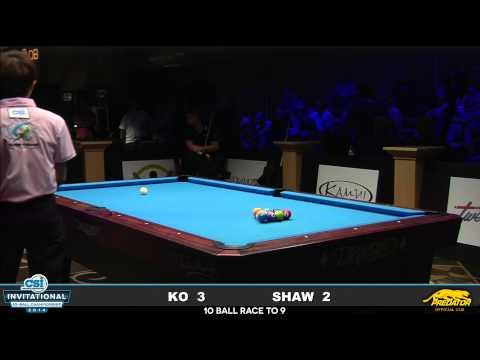 2014 CSI 10 Ball Invitational: Shaw vs Ko (14)