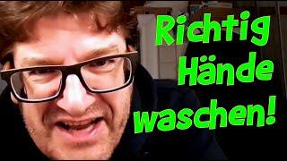 Nils Heinrich – Richtig Hände waschen