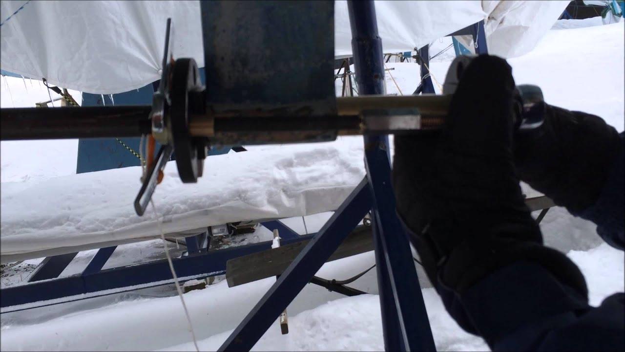 Cutlass Bearing 1 Shaft Drive : Install new cutlass bearing without removing the shaft
