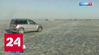 Вода ушла: Азовское море и река Дон обмелели - Россия 24