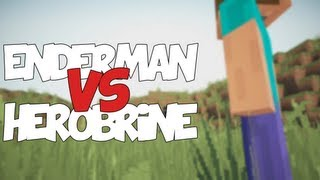 Repeat youtube video ENDERMAN VS HEROBRINE | Zarcort Ft. Deigamer
