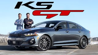 2021 Kia K5 GT Review // The Almost Performance Sedan