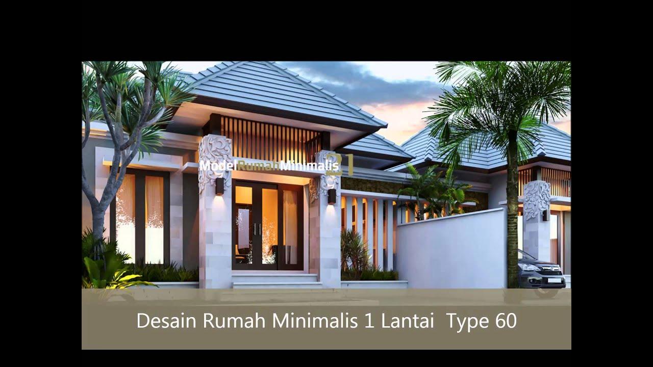 Desain Rumah Minimalis 1 Lantai YouTube