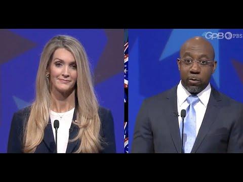 JUST-IN-Rev.-Raphael-Warnock-RIPS-Kelly-Loeffler-at-Georgia-Senate-debate
