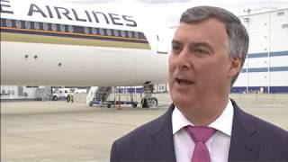 787-10 Dreamliner Delivery To Singapore Airlines