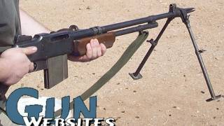 Shooting Full Auto Bar (browning Automatic Rifle) @ Machine Gun Fundraiser