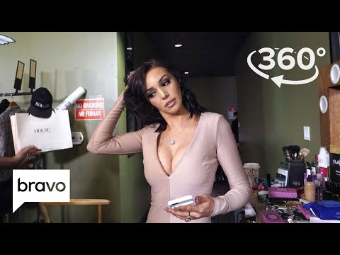 360 VR Exclusive: James Kennedy, Scheana Marie, and Lala Kent Get Glam | Vanderpump Rules | Bravo