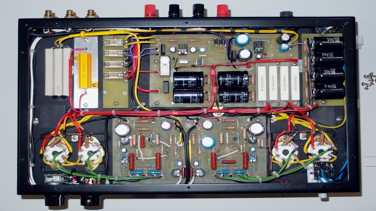 DIY Stereo tube amplifier PP EL34