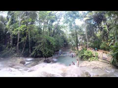 Dunn's River - Full Climb with GoPro Hero 3+ - JAMAICA!