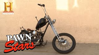 Pawn Stars: MASSIVE PRICE DROP for 1957 Harley After Appraisal (Season 10) | History