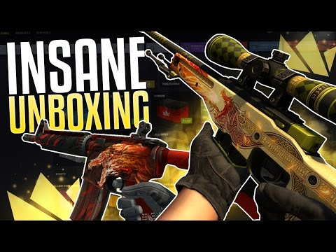 INSANE HOWL AND DRAGON LORE UNBOXING