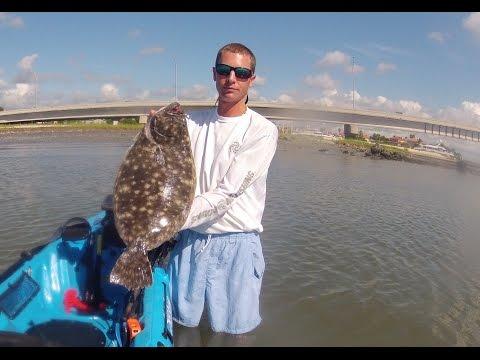 Kayak Fishing St. Augustine Random Footage Summer 2014