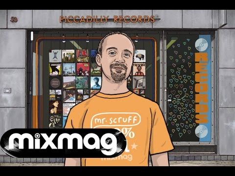 Mr. Scruff 100% Vinyl set @ Piccadilly Records, Manchester