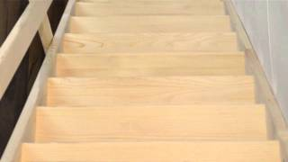 Деревянная лестница(Деревянная лестница (лестница из дерева) - бюджетный вариант для дачников. Поставляется вместе с деревянным..., 2013-10-29T07:37:46.000Z)